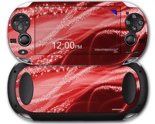 Sony PS Vita Skin Mystic Vortex Red by WraptorSkinz