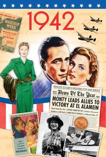 70th Birthday Gifts For Women - 1942 DVD Film