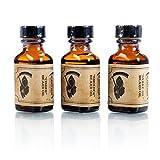Smolder, Cinder & Snake Oil 3 Pack Beard Oil - By The Blades Grim