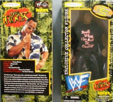 WF The Rock Toyfare Exclusive Figure - 1