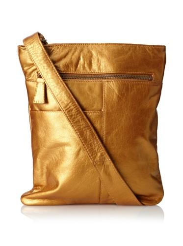 Latico Leather Athena North/South Crossbody - Metallic Gold (Chanel Vintage Purse compare prices)