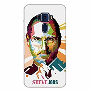 Happoz ASUS Zenfone 3 Deluxe (ZS570KL) Cases Back Cover Mobile Pouches Shell Hard Plastic Graphic Armour Premium Printed Designer Cartoon Girl 3D Funky Fancy Slim Graffiti Imported Cute Colurful Stylish Boys D098