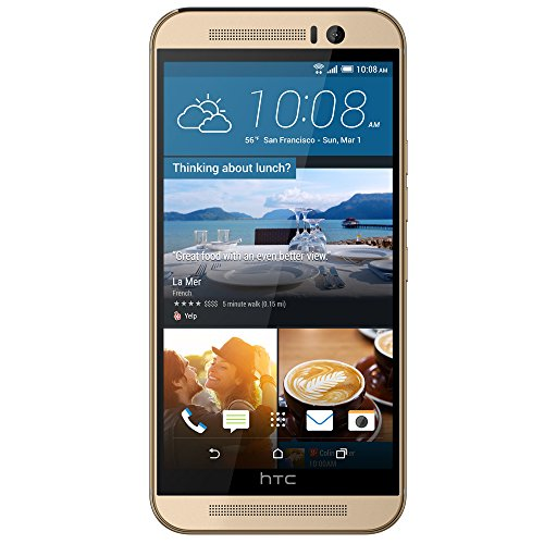 HTC One M9 - Factory Unlocked - Gold
