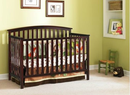 Cherry Wood Cribs front-5579