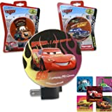 Pixar Cars Night Light Gift Set for Kids - 3 Disney Pixar Cars Night Lights (Includes 1 of Each - Lightning McQueen, Hudson Hornet & Tow Mater) PLUS Bonus Cars Stickers - Best Stocking Stuffer for Kids and Best Christmas or Holiday Gifts for Kids for 2013