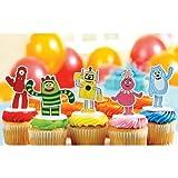 Yo Gabba! Cake Toppers Party Supplies