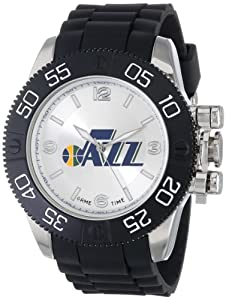Game Time Mens NBA-BEA-NO Beast New Orleans Hornets Round Analog Watch by Game Time