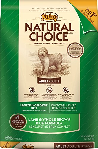 Natural Choice Limited Ingredient Diet Lamb/Brown Rice Dry Food For Dogs, 15-Pound