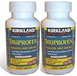 Kirkland Signature Ibuprofen 200mg 2X500 count