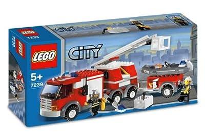 Lego City 7239 - Feuerwehrlöschzug