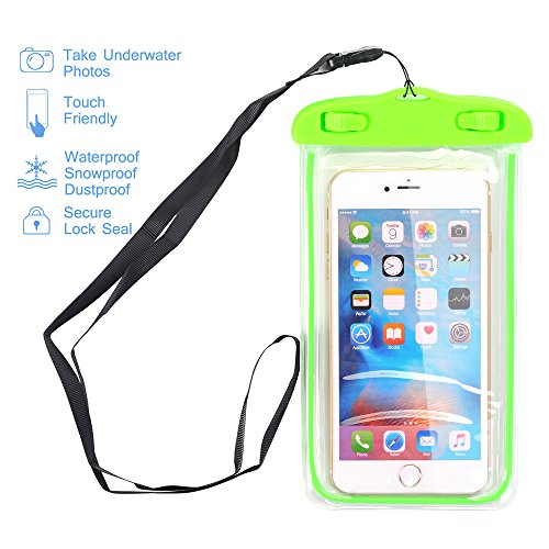 Universal Waterproof Case, Asstar Phone Dry Bag for Rafting, Kayaking, Swimming Work with iPhone 6S, 6S Plus,7 SE 5S, Samsung Galaxy Note 7 5,S7, S6 HTC LG Sony Nokia Motorola up to 6.0