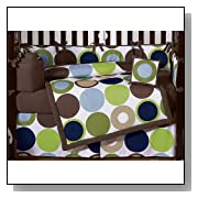 Designer Dot Modern Baby Boys Bedding by JoJO Designs