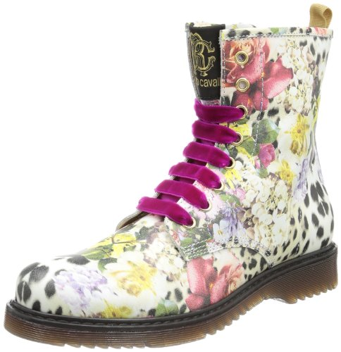 Roberto Cavalli Girls BOOTIE Boots multi-coloured Mehrfarbig (STAMPA FLOREALE) Size: 10 (28 EU)