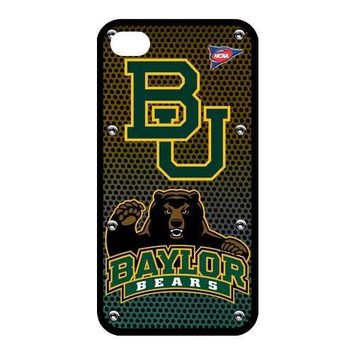 NCAA Baylor Bears Fan Collection RUBBER Case Cover for Apple iPhone 4 4S at Amazon.com