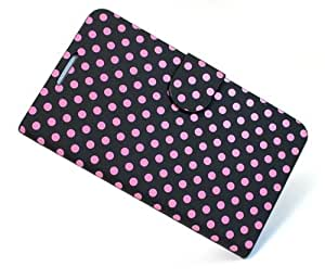 KolorFish iLittle Polka Dots Designer Funky Leather Flip Case Cover for Samsung Galaxy Note 2