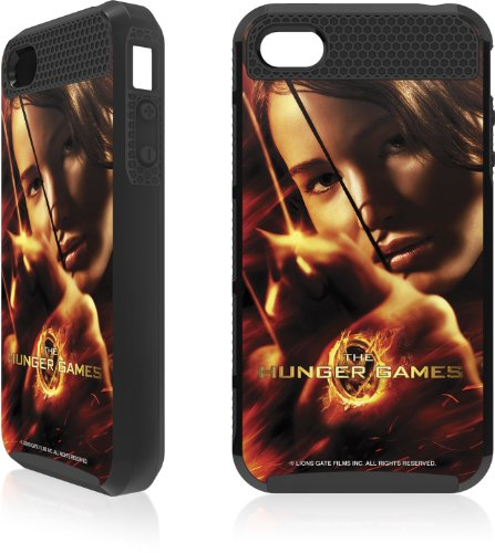 Skinit The Hunger Game -Katniss Bow & Arrow Apple iPhone 4 / 4S Cargo Case