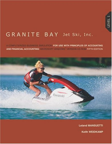 MP Granite Bay Jet Ski Lev 1 with Student CD-ROM
