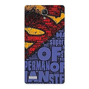 Cute Premier Day Typo Multicolor Back Case Cover for Redmi Note 4