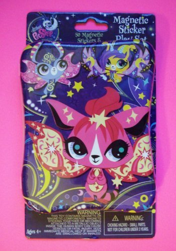 Littlest Pet Shop Magnetic Sticker Play Set