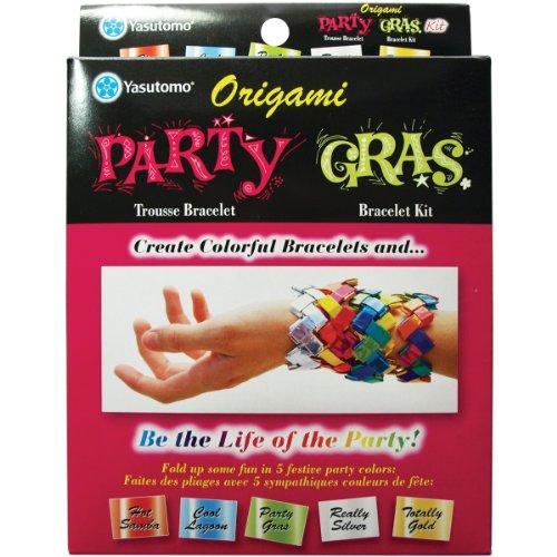 Yasutomo Party Gras Origami Bracelet Kit