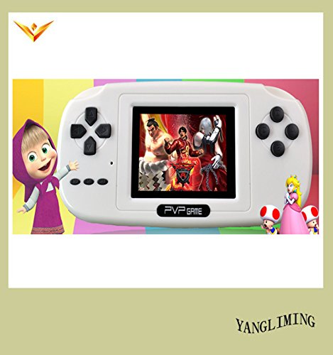 8 Bit Tv Pvp Game Console Games Of Desire 3 Inch With 100 Retro Games