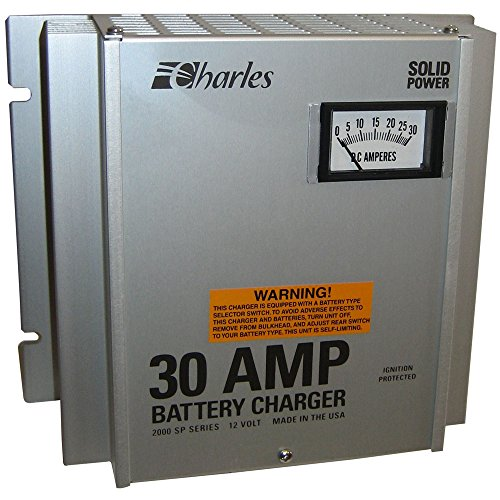 Charles 93-12302SP-A 2000 SP Series C-Charger - 30A/3 Bank