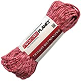 Paracord Planet 100 550lb Type III CandyCane Paracord