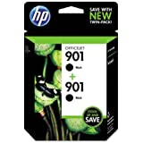 HP 901 Twin-pack Ink Cartridge - Black