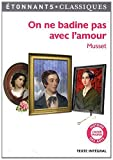 img - for On ne badine pas avec l'amour (French Edition) book / textbook / text book