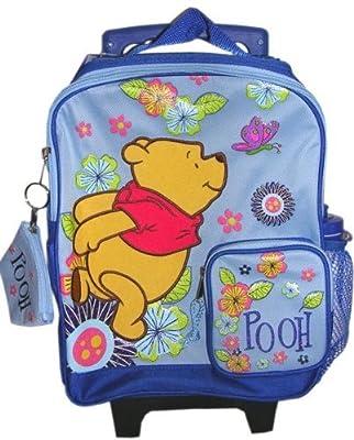 Disney Winnie The Pooh Kids rolling backpack luggage bag from Disney