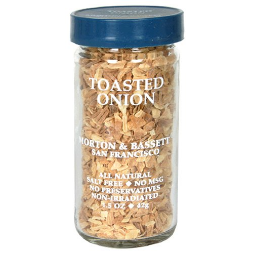 Morton & Bassett Toasted Onion, 1.5-Ounce Jars (Pack of 3)