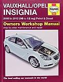 Vauxhall/Opel Insignia Petrol & Diesel Service and Repair Manual: 2008-2012 (Haynes Service and Repair Manuals)
