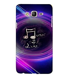PRINTVISA Quotes Music Case Cover for SAMSUNG GALAXY ON 5 PRO