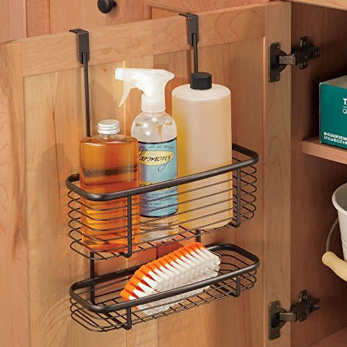 Ashley Over The Door Kitchen Basket And Towel Bar