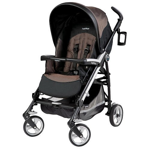 Peg Perego Pliko Four Stroller Newmoon back-917057