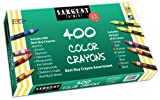 Sargent Art 55-3220 Best-Buy Assortment Crayon 3-5 8-Inch 400-Count
