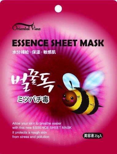 ORIENTAL VIEW エッセンス シート マスク #カタツムリ #シンエイク #ミツバチ毒 10枚セットマスク・パック