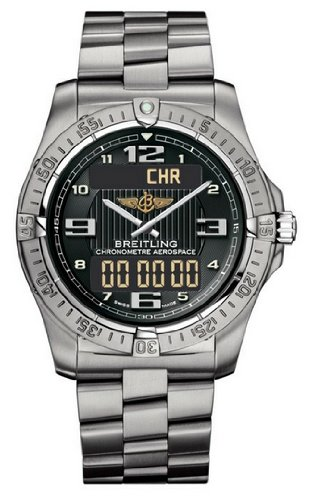 NEW BREITLING AEROSPACE AVANTAGE MENS WATCH E7936210/B962