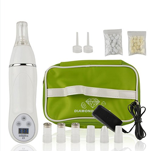 AoStyle Personal Diamond Microdermabrasion Machine. Exfoliates and Resurfaces the Skin and Utilizes Pore Vacuum Extraction to Promote Skin Health & Facial Renewal. (At Home Microdermabrasion Machine compare prices)