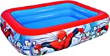 Color Baby - Piscina hinchable rectangular de Spiderman