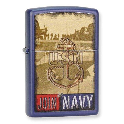 ZIPPO Join NAVY Navy Matte