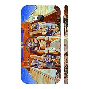 Enthopia Designer Hardshell Case EGYPTIAN MUMMY Back Cover for HTC One M7