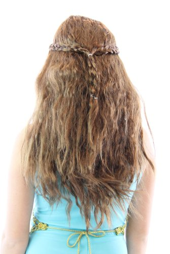 Game of Thrones Medieval Princess Queen Braided Costume Wig