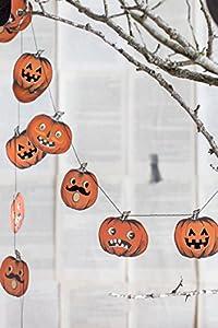 My Mind's Eye Halloween Pumpkin Mini Banner, 8 Feet Long from My Mind's Eye