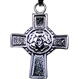 J-29 Stainless Steel Lutheran Cross Pendant