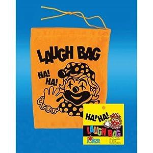 Novelty Laughing Laugh Gag Joke Bag Clown Toy