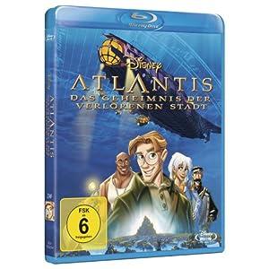 Atlantis - das Geheimnis der Verlorenen Stadt [Blu-ray] [Import allemand]