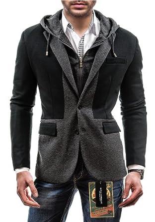 BOLF - Veste à capuche - R. GIORMANI 30 - Homme - XL Noir [4D4]