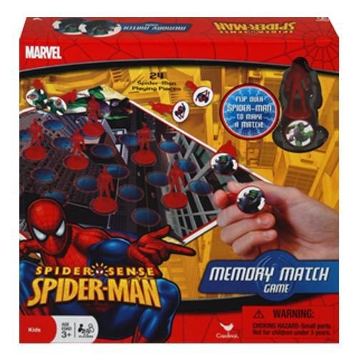 Spider-man Board Game- Memory Match Game