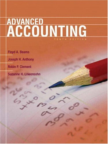Advanced Accounting (10th Edition)